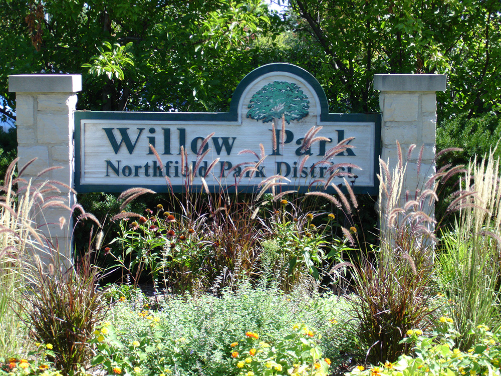 Willow Park Sign