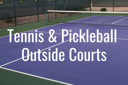 Outdoor Tennis & Pickleball Courts